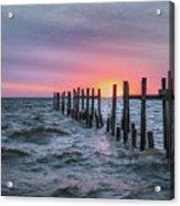 Gulf Coast Sunrise Acrylic Print
