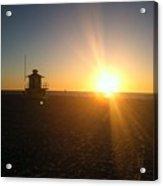 Gulf Coast Sunset Acrylic Print