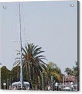 Gulf Harbor Acrylic Print
