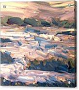 Gulf Island Sunset Acrylic Print