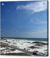 Gulf Of Mexico At Pensacola Beach Acrylic Print