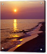 Gulf Of Mexico Sunset Acrylic Print by Thomas R Fletcher