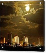 Gulf Shores Night Skys Acrylic Print