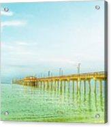 Gulf Shores Pier Acrylic Print
