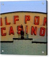 Gulfport Casino Acrylic Print