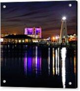 Gulfport Lighthouse - Mississippi - Harbor Acrylic Print