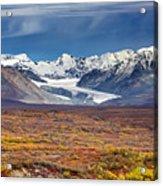 Gulkana Glacier Acrylic Print