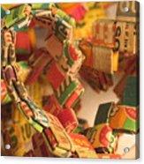 Gumball Chain Acrylic Print