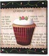 Gumdrop Cupcake Acrylic Print
