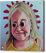 Gummy Eyes Swedish Fish Acrylic Print