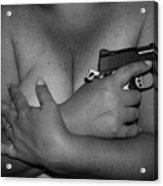 Guns And Ammo Acrylic Print