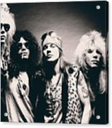 Guns N' Roses - Band Portrait Acrylic Print