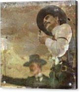 Gunslinger II Doc Holliday Acrylic Print