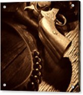 Gunslinger Tool Acrylic Print