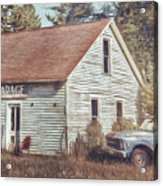 Gus Klenke Garage Acrylic Print