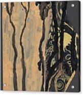 Gustav Klimt's Tears Acrylic Print