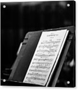 Gustav Mahler Symphony No 1 Acrylic Print