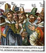 Guy Fawkes, 1570-1606 Acrylic Print