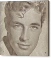 Guy Madison, Vintage Hollywood Actor Acrylic Print