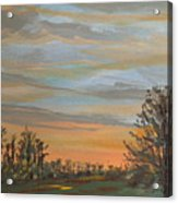 Gwinnetian Sunset Acrylic Print