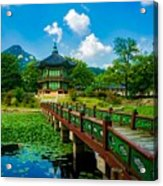 Gyeongbokgung Palace Acrylic Print
