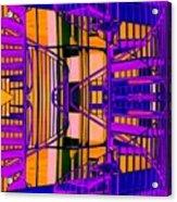 Gym Staircase Acrylic Print
