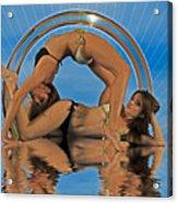 Gymnastic Girls 1209185 Acrylic Print