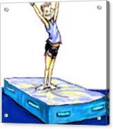 Gymnastic Perfection Acrylic Print