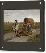 Gypsies Acrylic Print
