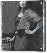 Gypsy A Study Acrylic Print