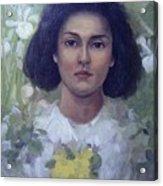 Gypsy Girl Acrylic Print