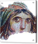 Gypsy Girl Of Zeugma Acrylic Print