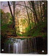 Gypsy Glen  Rd Waterfall  Acrylic Print