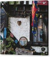 Gypsy Hut Acrylic Print