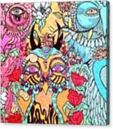 Gypsy Owl Acrylic Print