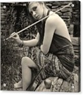 Gypsy Player Acrylic Print