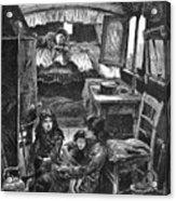 Gypsy Wagon, 1879 Acrylic Print