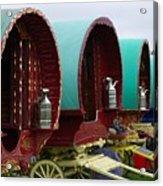 Gypsy Wagons Acrylic Print