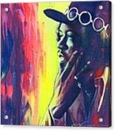 Gyspy Sun And Rainbows Acrylic Print