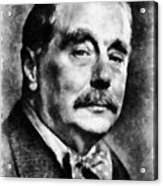 H. G. Wells Author Acrylic Print