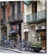 Barcelona Shops Acrylic Print
