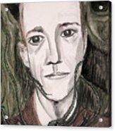 H P Lovecraft Acrylic Print
