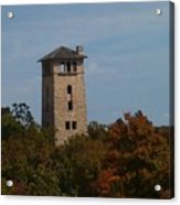 Ha Ha Tonka Water Tower Acrylic Print