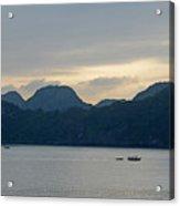 Halong Bay Sunset  Acrylic Print