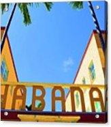 Habana Condos Acrylic Print