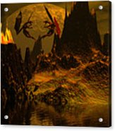 Habitation Of Dragons Acrylic Print