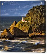 Haceta Head Light 2 Acrylic Print