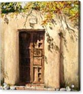 Hacienda Gate Acrylic Print