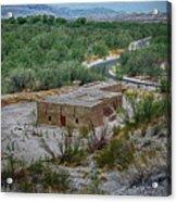 Hacienda In The Desert Acrylic Print