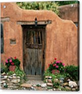 Hacienda Santa Fe Acrylic Print